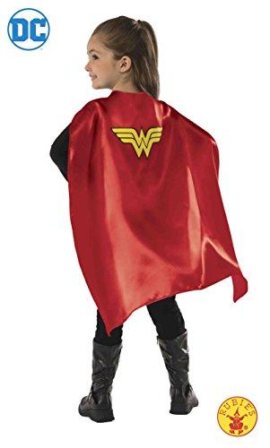 DC Comics - Capa de Wonder Woman para niña, accesorio de disfraz infantil (Rubies 34969)
