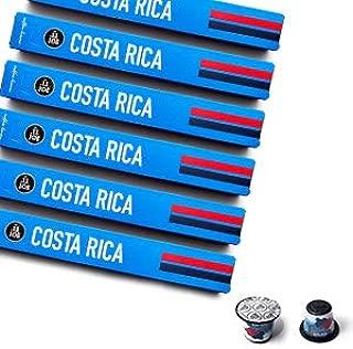 Nespresso Compatible Capsules - Espresso Pods for your Nespresso Machine - COSTA RICA, Nespresso Original Compatible Pods Costa Rican Coffee, 10-Count Sleeves, (60 Capsules)