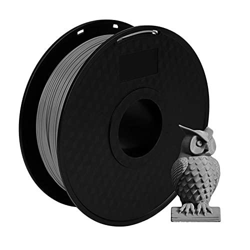 PFDB 3D Pla Filament, PLA Filament 1.75mm Dimensional Accuracy 3D+ 1kg Spool for Most 3D Printers/printer Pen, Vacuum Packaging, Grey grey