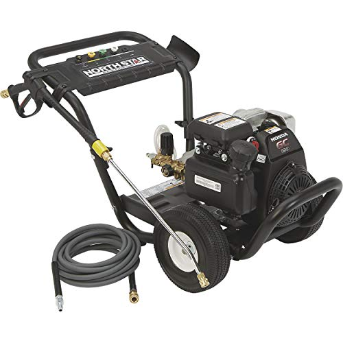 Northstar Gas Cold Water Pressure Washer Power Washer - 2.5 GPM, 3100 PSI, Honda Engine, Model Number 157121