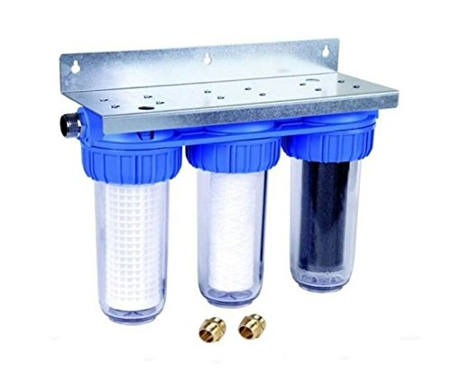 Honeywell Triple Filter FF60 Water Filter with Active Carbon