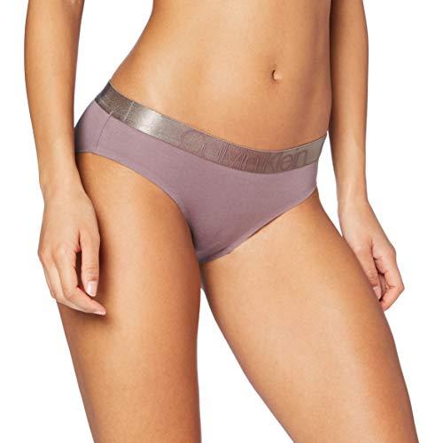 Calvin Klein Unisex Bikini Dessous, Pflaumenstaub, S