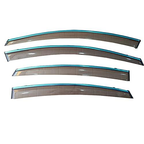 RelaxToday Carro Cubierta de Lluvia Ventana para Nissan Sylphy 2008-2011 Coche Visera Parasol para ventanilla de Coche Cubierta de Lluvia para Coche 4 Piezas