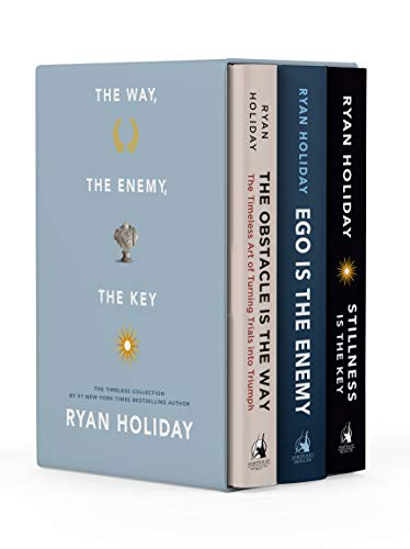 Real Estate Investing Books! - The Way, the Enemy, and the Key: A Boxed Set of The Obstacle is the Way, Ego is the Enemy & Stillness is the Key