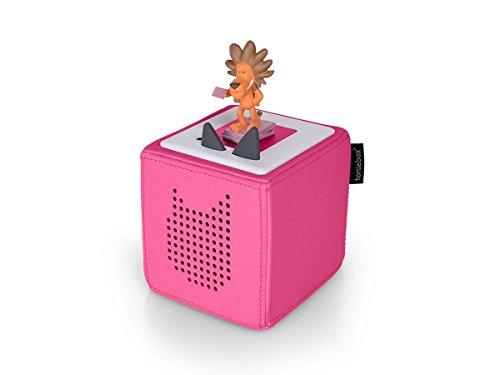 Tonies Toniebox Starterset mit Hörfigur Löwe pink