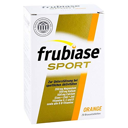 frubiase Sport Orange Brausetabletten, 20 St. Tabletten