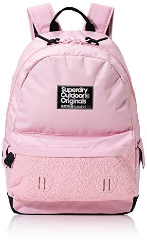 Superdry Damen Neoprene Mirror Montana Rucksack Pink (Pale Pink)