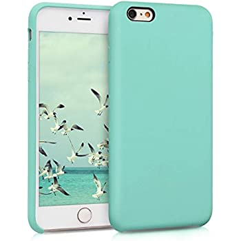 6S Plus Soft Flexible Rubber Protective Cover kwmobile TPU Silicone Case for Apple iPhone 6 Plus Cornflower Blue