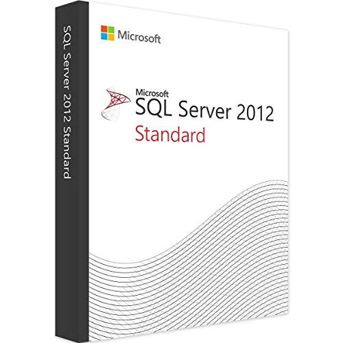 SQL Server 2012 Standard ESD Key + 10 CAL ESD Key Lifetime / Fattura / Consegna Immediata / Licenza Elettronica / Per 1 Dispositivo