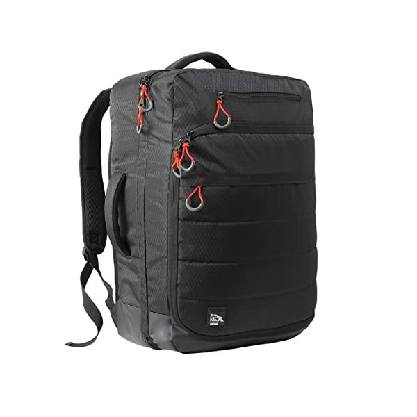 41IxE2v8yIL. SS600  - Cabin Max Santiago - Mochila para Portátil y Tablet para Viajar - 55x40x20 - Bolsillo Acolchado para Portátil…