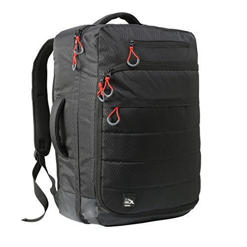 Cabin Max Santiago Carry on Luggage Laptop Backpack - 44L 55x40x20 - Built in Padded Laptop Sleeve - Carry on Luggage Flight Approved