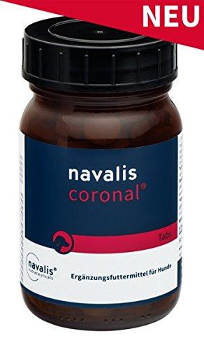 Navalis Nutraceuticals Coronal® Dog 80 Kautabletten Für Das Hundeherz