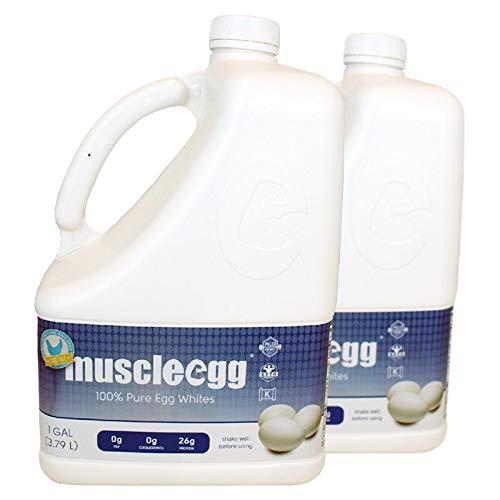 2 Gallons Plain Original MuscleEgg Liquid Egg Whites