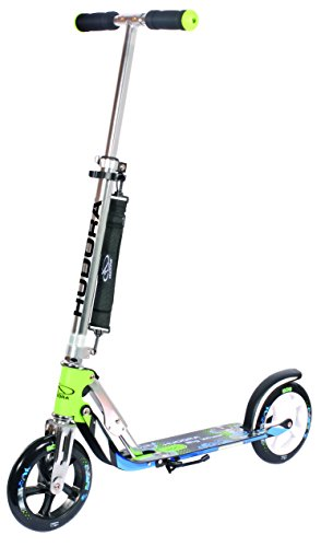Hudora City Scooter Big Wheel ALU 8 205 Verde/AZ