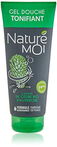 Naturé Moi – Gel douche tonifiant à l'extrait de cèdre bio d'Auvergne pour homme – Hydrate et nourrit les peaux normales et sèches – 200ml