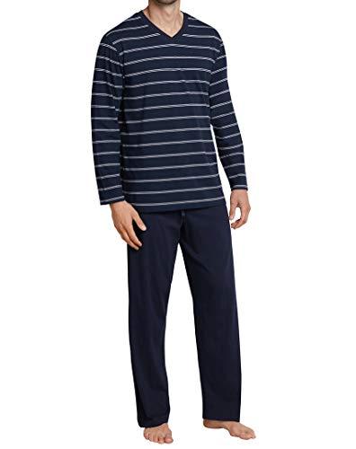 Schiesser 159622 Pyjama Dark Blue 56