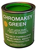 ChromaKey HD Video Green Screen Paint with 8K Primer 1 Quart