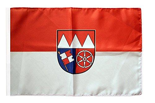 Flaggenfritze® Flagge Deutschland Unterfranken - 30 x 45 cm