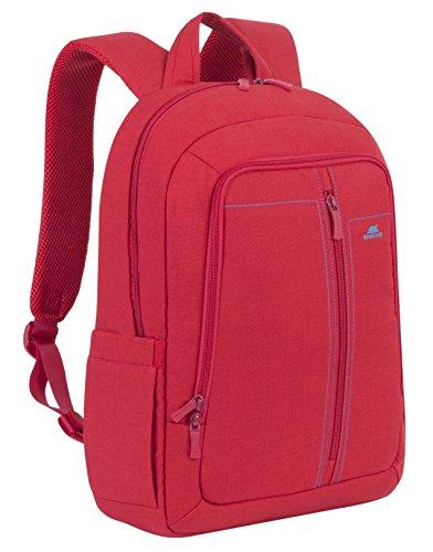 RivaCase 7560 Laptop Backpack 15.6 , Zaino per Laptop Fino a 15.6 , Rosso
