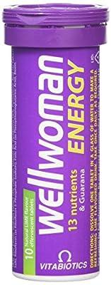 Vitabiotics Wellwoman Energy Lime, 10 Effervescent Tablets