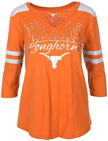 University of Texas Authentic Apparel NCAA Womens Womens Tri-Blend Short Sleeve Tee