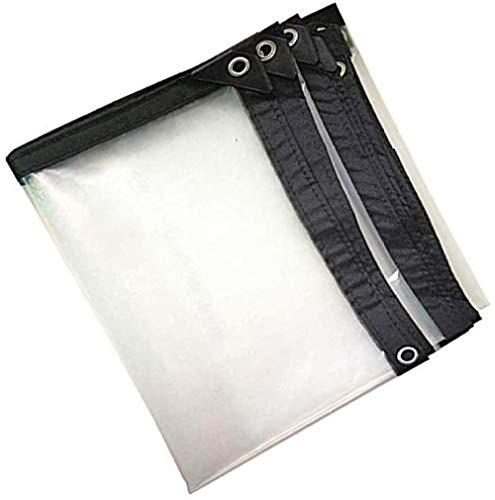 Lona Transparente Lonas Universales Impermeables 120 G / ㎡ Cubierta De Lluvia Para Techo De Barco Para Automóvil Carpa De Remolque Para Camping Película Suave De Pvc-Los 3X6M