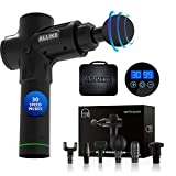 Allike Massage Gun C1 PRO Hand-held Electric Muscle Deep Tissue Muscle Massager, Body Massager Sports Drill Portable Super Quiet Brushless Motor