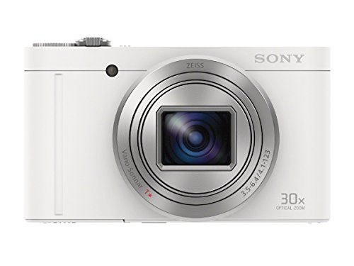 Sony digital camera Cyber-shot (Cybershot) White DSC-WX500-W [Japan Import]