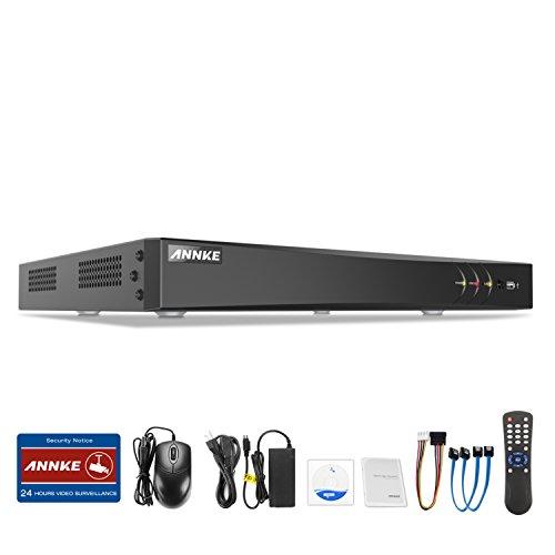 ANNKE 5MP DVR 16 Canali Videoregistratore Digitale a 5 in 1   MPI CVI   AHD IP   CVBS con Uscita 4K Senza HDD