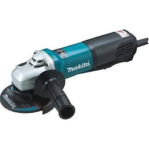 Makita 9565PCV 9565PCV-Mini-amoladora 125 mm 1400W 2800-11500 RPM sjs makpower sin Bloqueo, 1400 W, 240 V