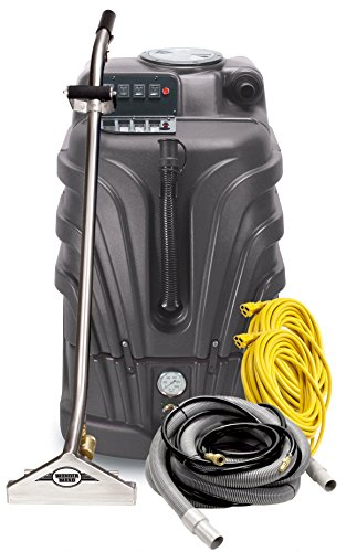Sale!! Powr-Flite PFX1085MAX2 Max Hot Water Carpet Extractor Starter Pack, 10 gal Capacity, Black