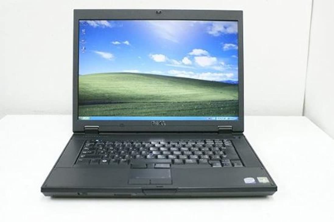 落胆するマイクロフォン囲まれた【中古】 ノートパソコン DELL Latitude E5500 Core2Duo-2.00GHz 2GB 160GBハードディスク DVD XP搭載 15.4型ワイド 1440x900