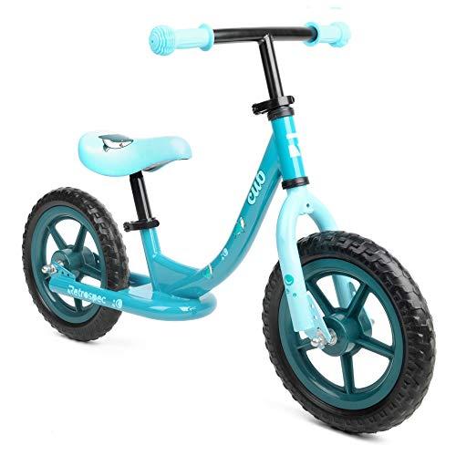 Retrospec Cub Kids Balance Bike No Pedal Bicycle; Shark Teal