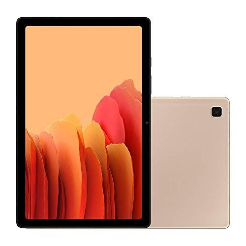 Tablet Samsung Galaxy Tab A7, Wi-fi e 4G, 64GB, 3 GB RAM, Tela 10.4', Octa-Core, SM-T505NZDQZTO, Dourado