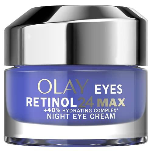 Olay Regenerist Retinol24 MAX Noche Crema Contorno De Ojos Sin Perfume, 15ml