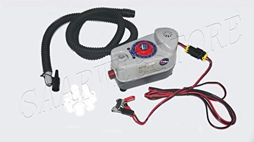 Saarwebstore Elektrische Luftpumpe Bravo BP 12V 160l/min 1 Bar Schlauchbootpumpe für Schlauchboot Tender Rib
