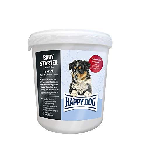 Happy Dog 60747 - Supreme Young Baby Starter Lamm & Reis - Welpen-Alleinfutter für die Entwöhnungsphase - 4 kg Inhalt