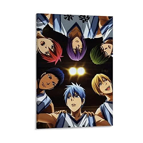 XIAOGOU Kuroko's Basketball Cartoon Anime Baloncesto Jugador Lienzo Póster Arte de la pared Impresión Moderna Decoración de Dormitorio Familiar Posters 30 x 45 cm