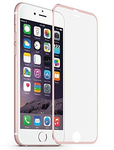 "iPhone 6 Plus Protector de pantalla, iPhone 6S Plus Protector de pantalla, mustone 3d Touch cobertura completa vidrio templado Protector de pantalla Metal borde a borde para iPhone 6/6S Plus de 5.5"""