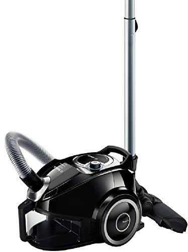 Bosch Elettrodomestico BGS4SIL73A Aspirapolvere a Carrello Senza Sacco, 700 W, 73 Decibel, Nero