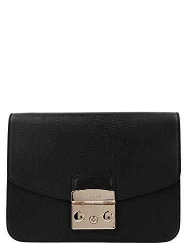 FURLA Luxury Fashion Donna 941911 Nero Borsa A Spalla | Autunno Inverno 19
