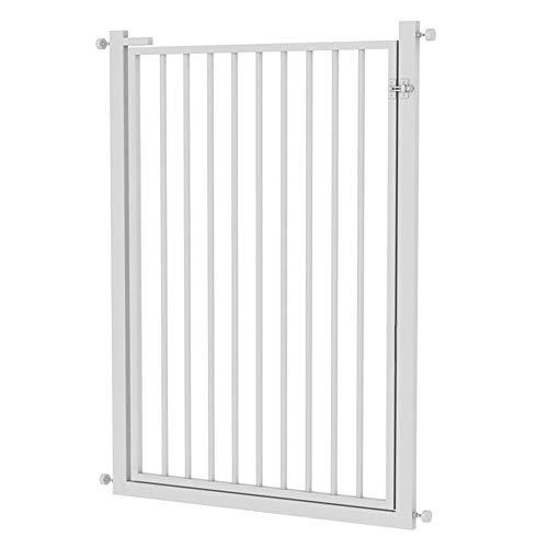 ZHANWEI Cancelletti di Sicurezza Extra Alto E Largo, Barriera Estensibile, per Le Porte del Cane Gatto Play Yard (Color : White, Size : 95-99cm)