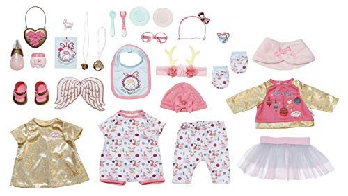 Baby Annabell Zapf Creation 703366 Puppen Adventskalender für Kinder mit Puppenkleidung und -Accessoires, 24 Überraschungen