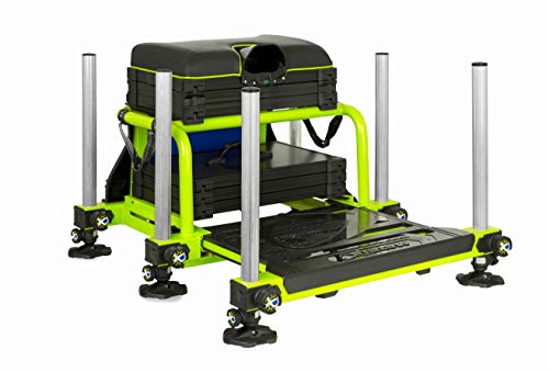 Fox Matrix S36 Superbox Lime Including Insert Trays GMB134 Sitzkiepe Seatbox Box
