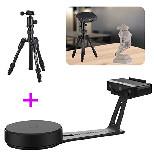 Why Choose 2019 New EinScan-SE White Light Desktop 3D Scanner with Tripod, 0.1 mm Accuracy, 8s Scan ...