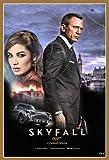 Skyfall - James Bond - Daniel Craig – Film Poster Plakat