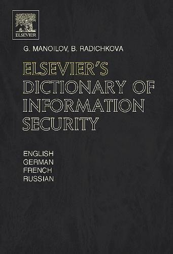 Elsevier's Dictionary of Information Security (English Edition)