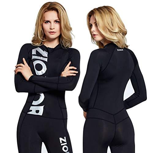 ZIONOR Ganzkörper Neoprenanzug Sport Rash Guard Taucheranzug für Schwimmen Schnorcheln Tauchen Surfen mit UV-Sonnenschutz Langarm für Damen