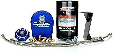 Sinister Diesel SD-EOF-5.9-06 Bypass Oil Filter System for Dodge Cummins 2006-2007 5.9L