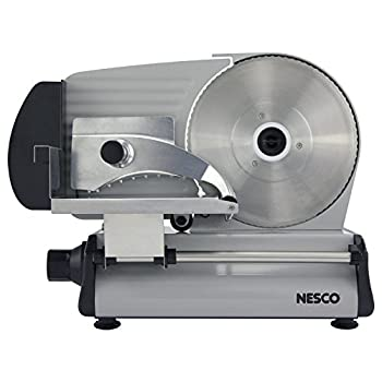 NESCO  Stainless Steel Food Slicer Adjustable Thickness 8.7  Silver